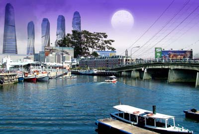 Banjarmasin, Kota Impian di Jembatan Antasari