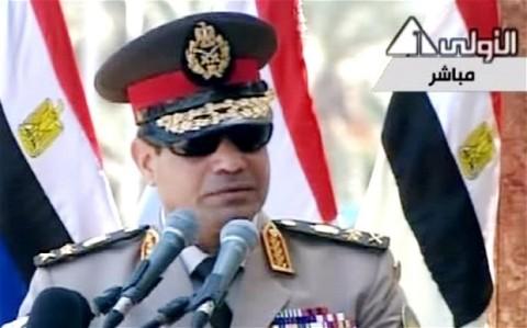 Jenderal Abdel Fattah Al-Sisi Egypt